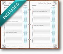 MyDayRegistry Registry Book
